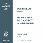Einladung zum Digital Innovation Lab: From zero to chatbot in one hour